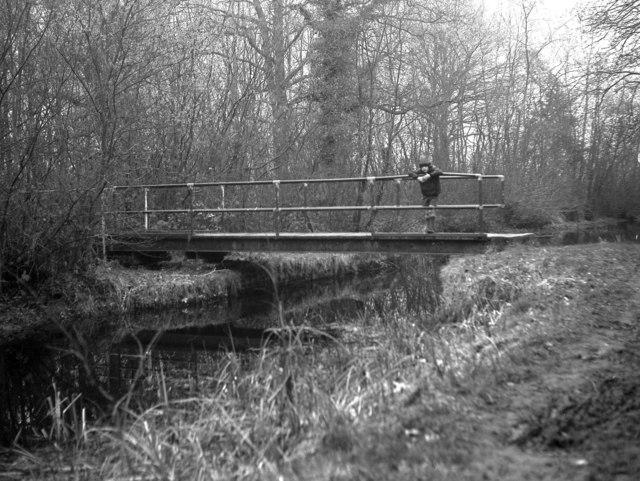 Zebon Copse Swing Bridge, Basingstoke Canal