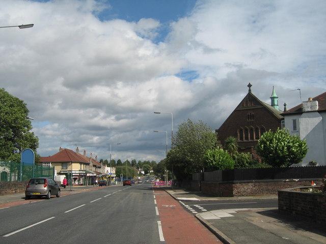 Woolton Road, Wavertree