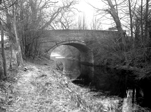 Double Bridge, Basingstoke Canal