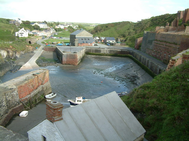 The harbour, Porthgain