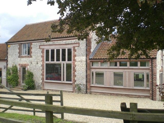 Barn conversion, Chalk Hill Farm