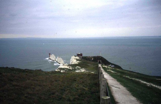 The Needles and the Old Battery