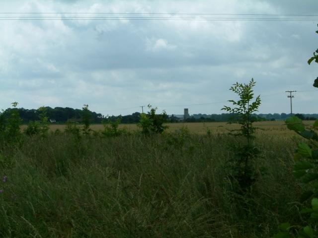 Across the fields to Haddiscoe