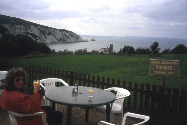 Cafe at Alum Bay