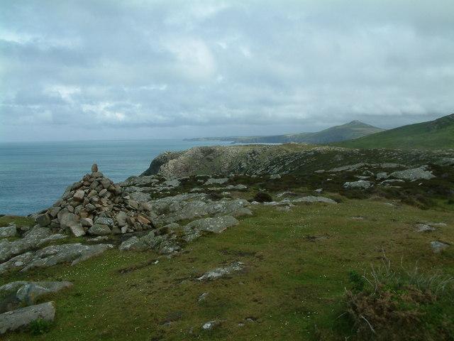 Cairn, St David's Head