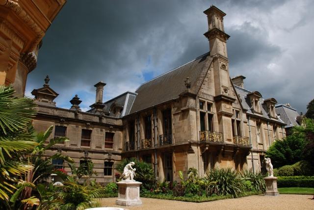 Waddesdon Manor (Rear) from Formal Gardens