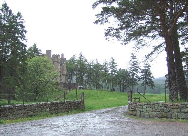 Entrance to Braemar Castle
