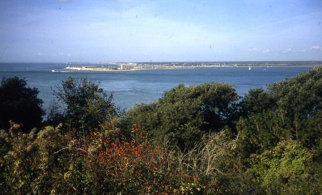 The Solent from Fort Victoria Country Park