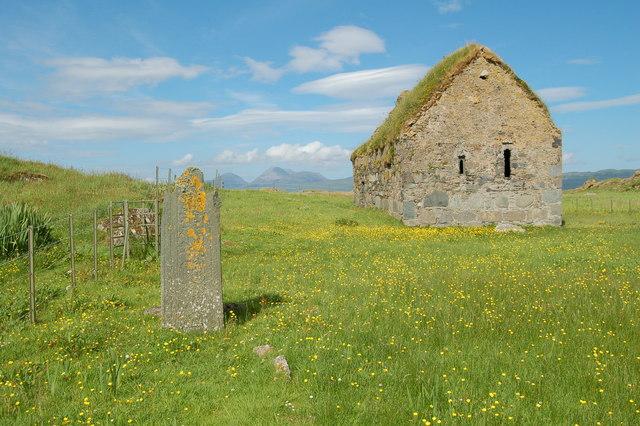 13th Century Christian Chapel, Eilean Mor, MacCormaig Isles