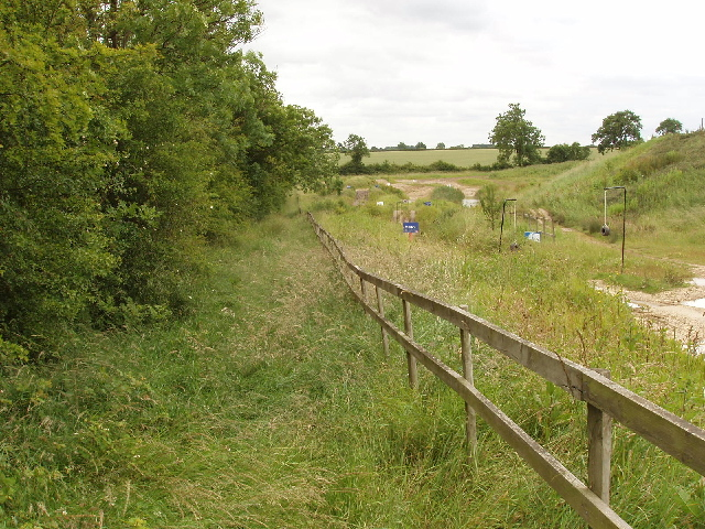 Bridleway and Silverstone rally school course