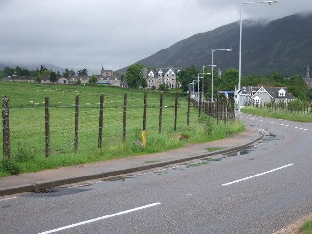 View towards Braemar