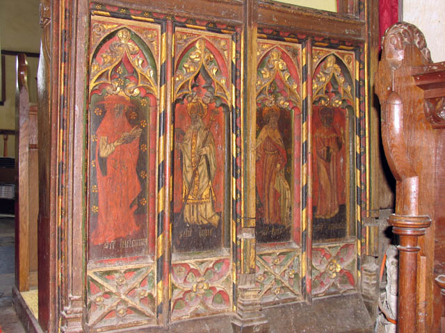 St Nicholas, Potter Heigham, Norfolk - Screen