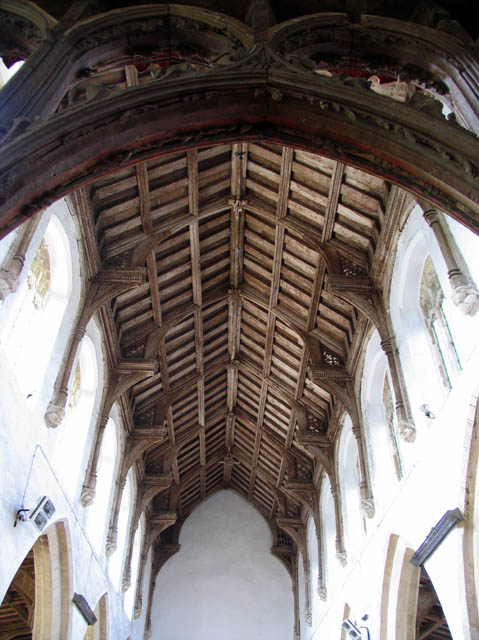 St Nicholas, Potter Heigham, Norfolk - Roof