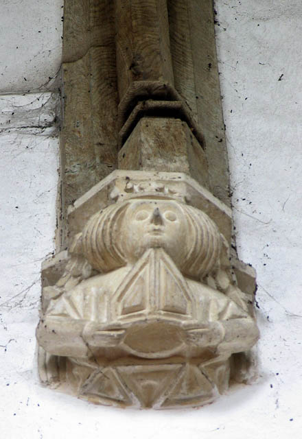 St Nicholas, Potter Heigham, Norfolk - Corbel