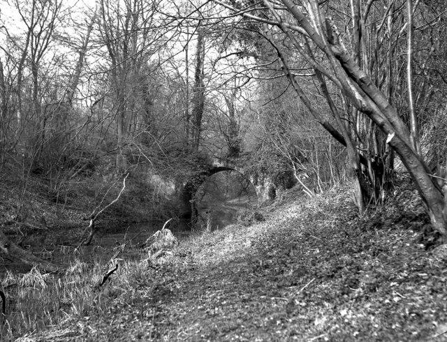 Sandy Hill Bridge, Basingstoke Canal