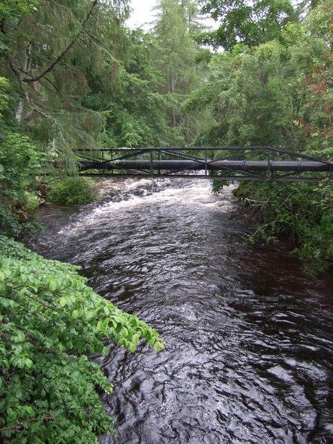 Upstream Clunie Water