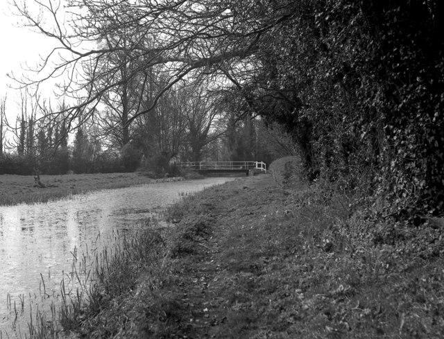 North Warnborough Lift Bridge, Basingstoke Canal