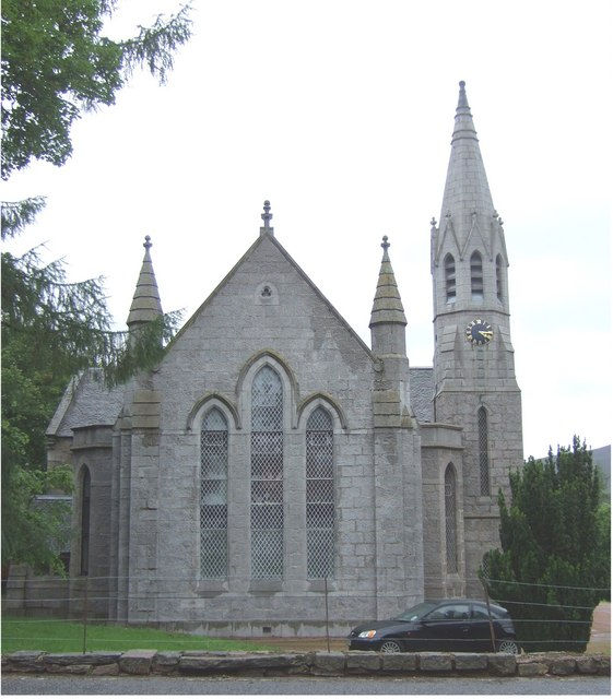 A former Place of Worship, Braemar