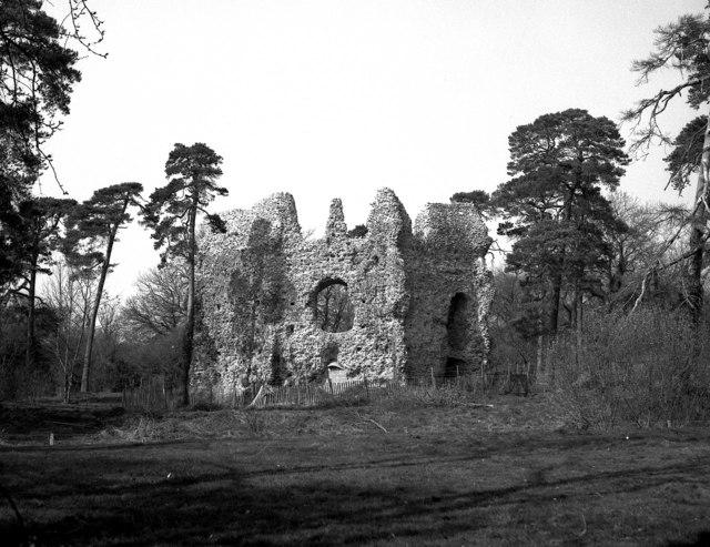 King John's Castle. Odiham