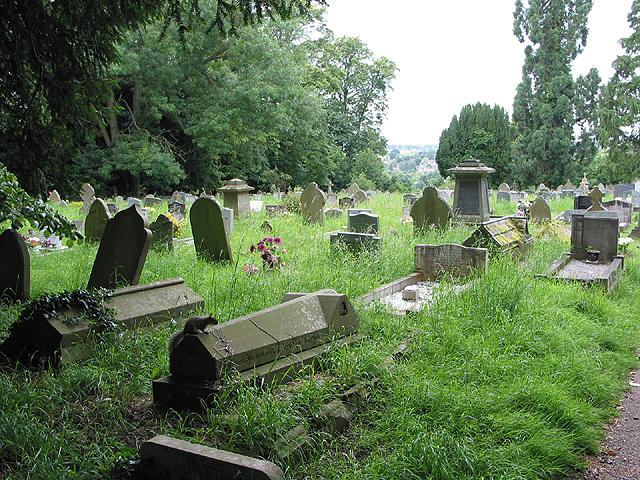 The churchyard, St. Mary's Ross-on-Wye