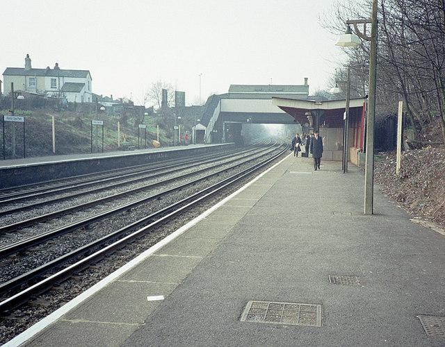 Honor Oak Park Station - March 1987