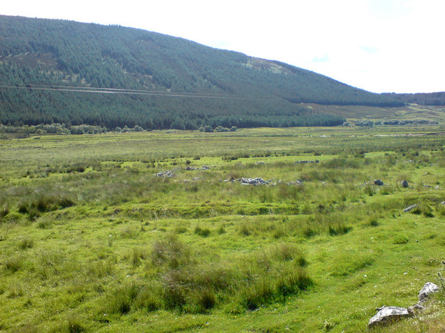 The view towards the Helmsdale River from Balvalaich