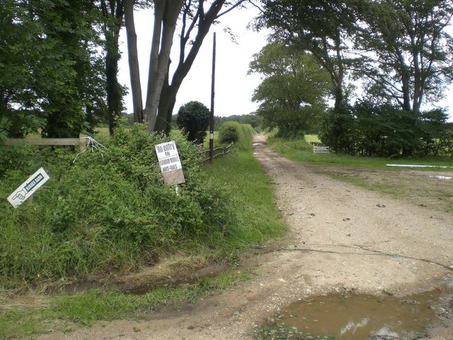 South entrance to Sussex Farm