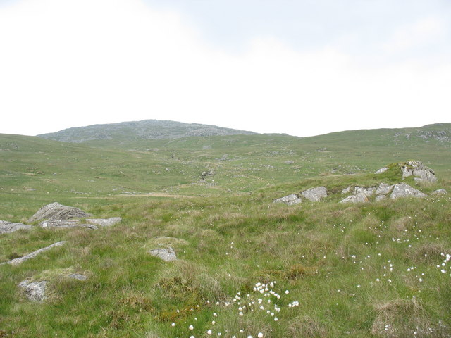 View back up the Harnog valley