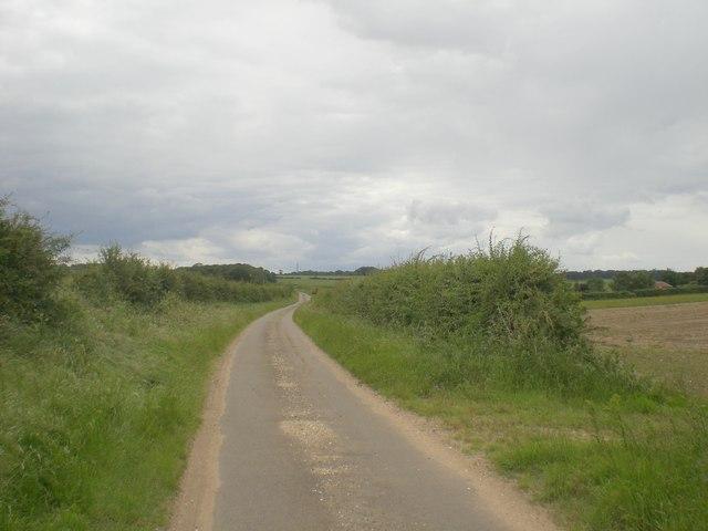 West towards Sussex Farm