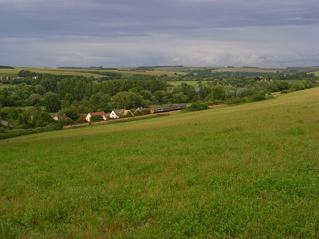 The Wylye valley, Hanging Langford