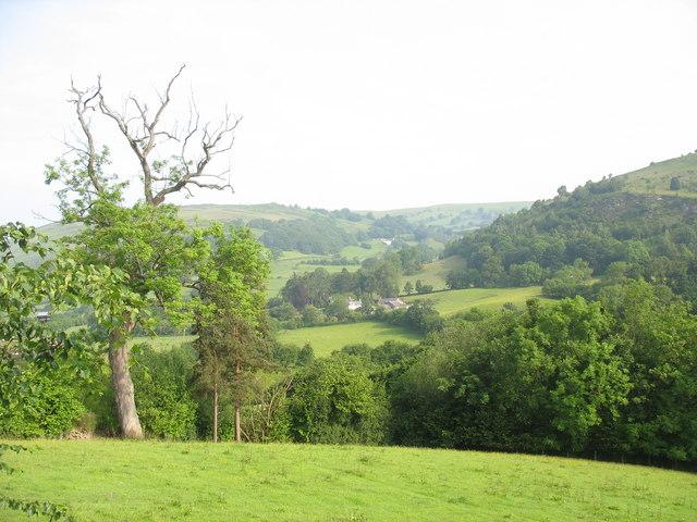 Glyndyfrdwy - the vale of the Dyfrdwy (Dee)