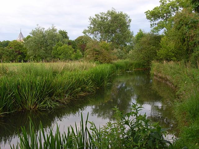 The River Wylye, Steeple Langford