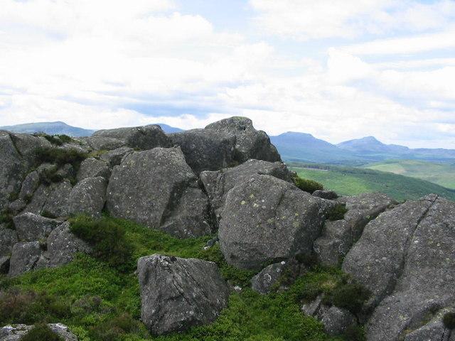 Summit rocks, Rhobell-y-big