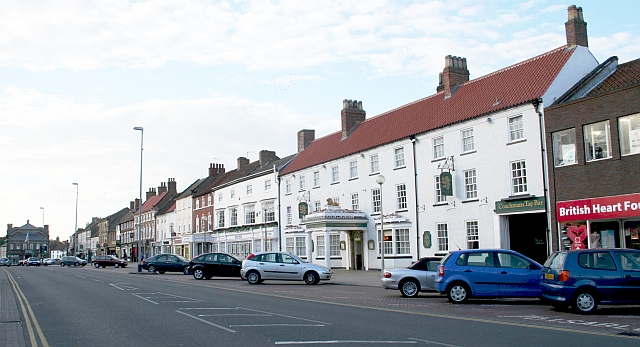 East Side of Northallerton Town Centre