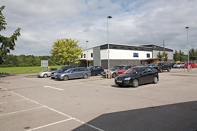 The Hub sports pavilion, Bishopstoke Road