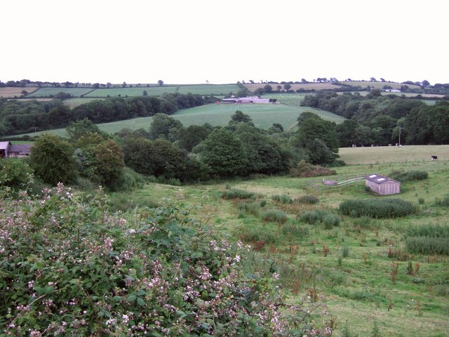 Synderford valley at Yew Tree Farm
