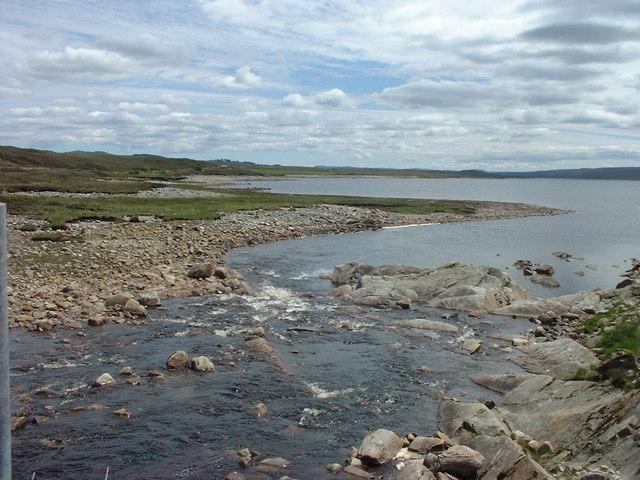 Loch Shin by the River Fiag