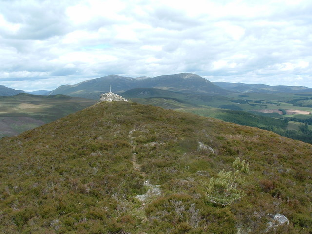 The watch tower at Creag Urrard