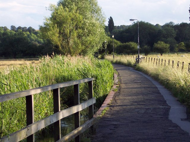 Footpath to the Old Mill, Harnham