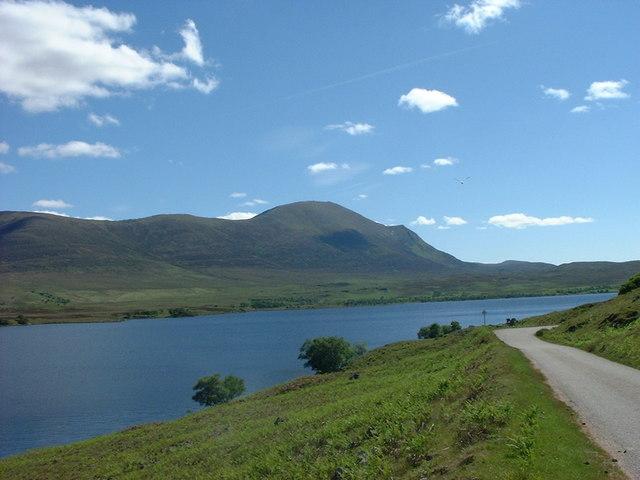 Loch Naver looking South to Ben Klibrech