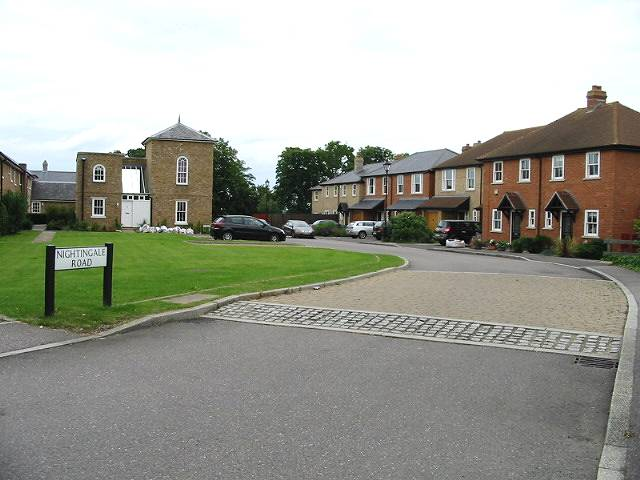 Nightingale Road, new housing along the A291 Canterbury Road