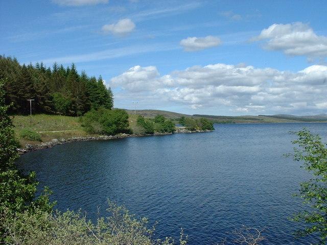 A Bay on Loch Naver