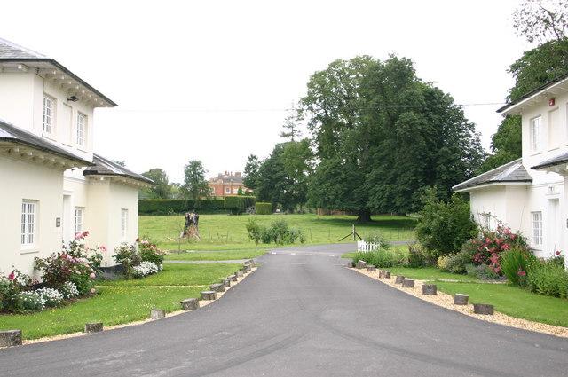 Lodges at entrance to Ramridge house