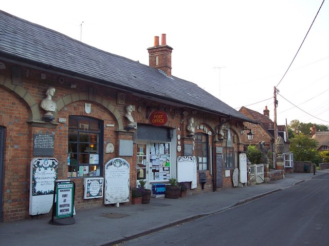 Great Bedwyn Post Office and Stonemason's Museum