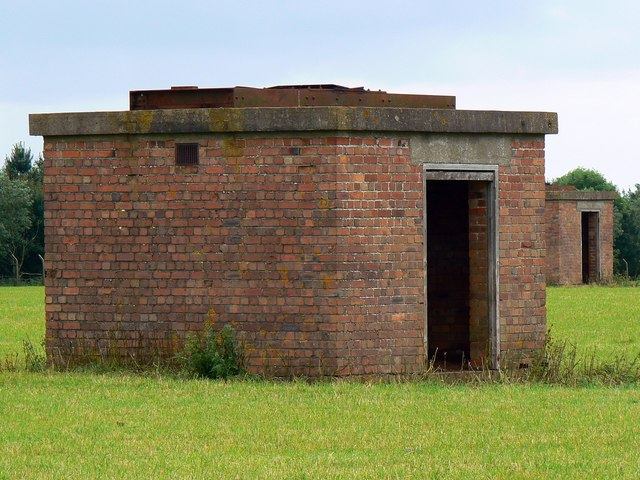 Old airfield buildings, Charmy Down