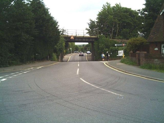 Railway Bridge, Bluehouse Lane