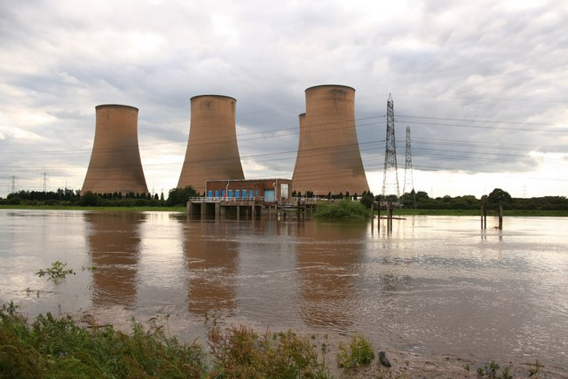 River Trent, the day after heavy rain