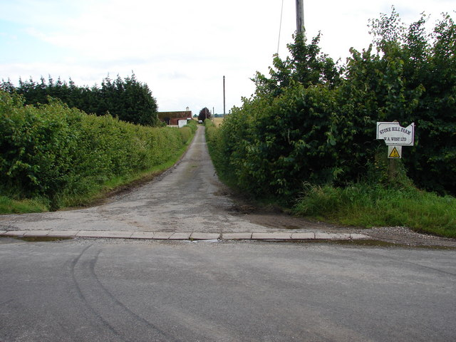 Road to Stone Hill Farm