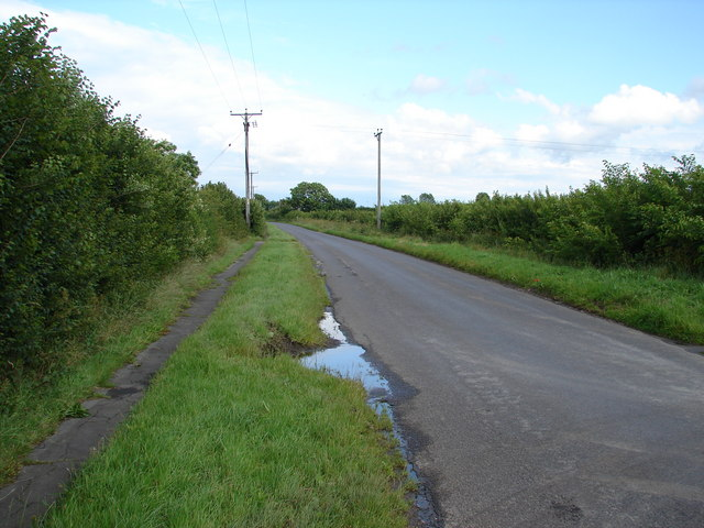 Road from Horncastle to Mareham on the Hill