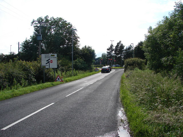 Junction with A158